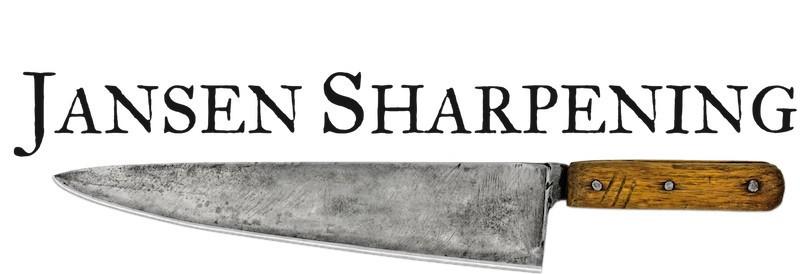 Sharpening Logo On White