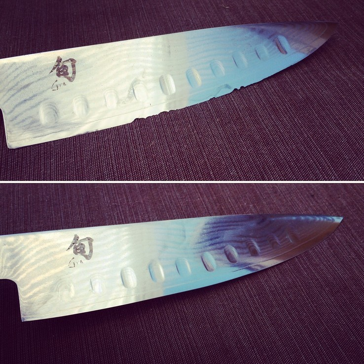 Knife Sharpening Chips Repair St. Louis
